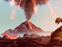 Asteroid-Volcano combination killed off the dinosaurs