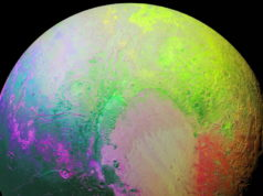 NASA creates psychedelic image of pluto